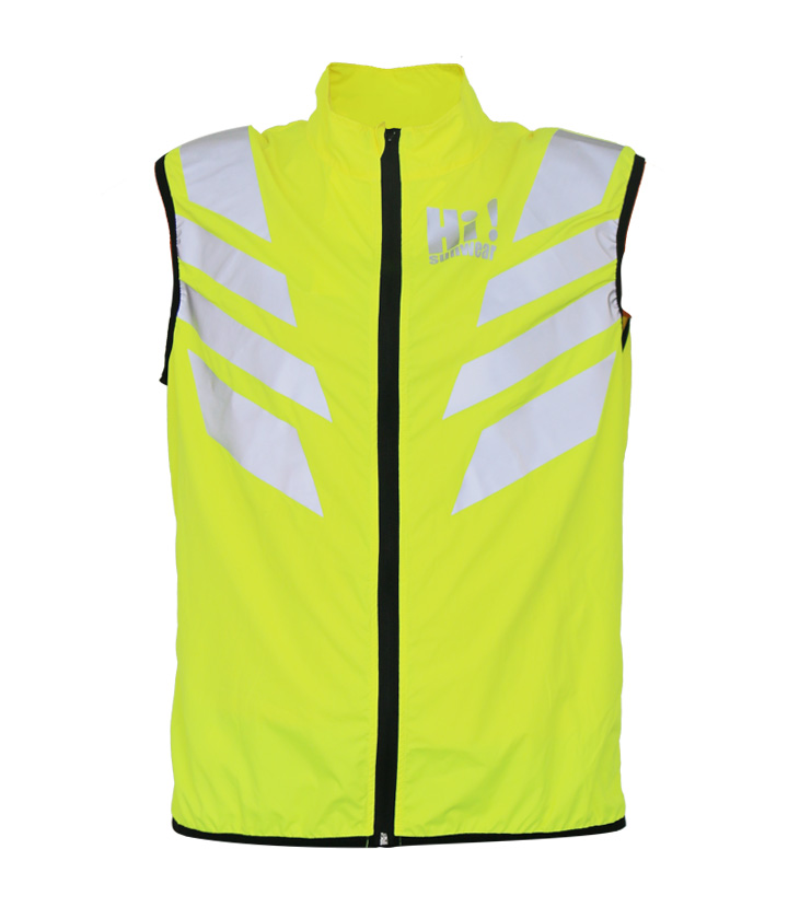 Hi Vis Yellow Bicyle Vest